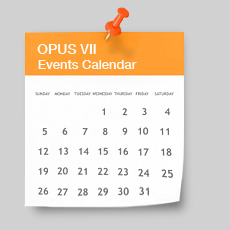 OPUS VII Events Calendar