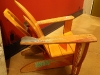 Water-Ski Adirondack Chair with Laptop Desk - Alternate view