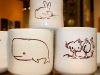 Cups with Drawings