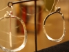 Fine Silver Large Hoop Earrings